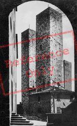 Torri Dei Salvucci c.1910, San Gimignano