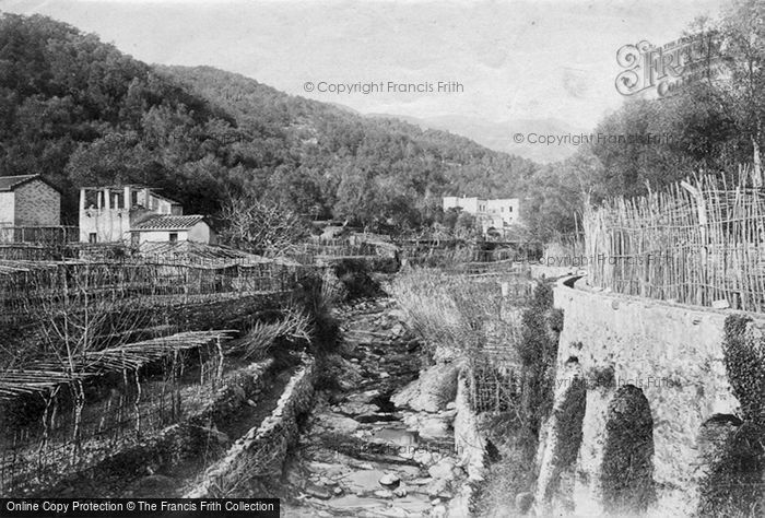 Photo of San Remo, 1891