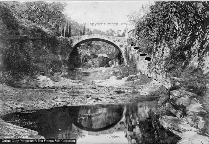 Photo of San Remo, River View 1891