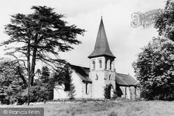 Sand Hutton, St Mary's Church c.1955