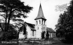 Sand Hutton, St Mary's Church c.1955