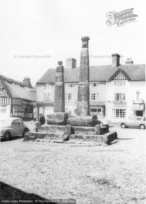 Photo of Sandbach, Ancient Saxon Crosses c.1960