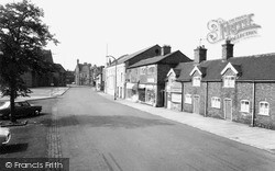 Sandbach, Congleton Road c.1965