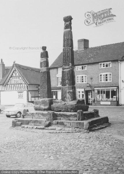 Photo of Sandbach, Crosses In The Square c.1965