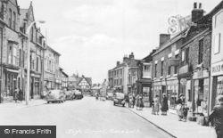 Sandbach, High Street c.1955