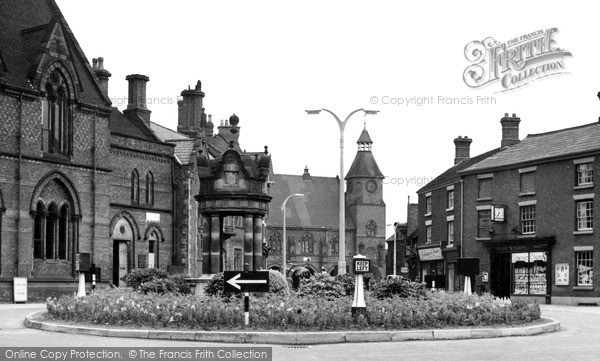 Photo of Sandbach, Hightown c.1955