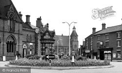 Sandbach, Hightown c.1955