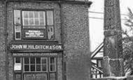Sandbach, John W.Hilditch & Son And The Ancient Cross c.1955