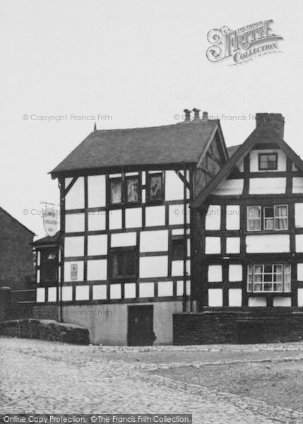 Photo of Sandbach, Lower Chequer Inn c.1955