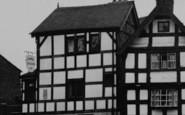 Sandbach, Lower Chequer Inn c.1955