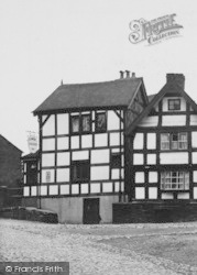 Sandbach, Lower Chequer Inn c.1955