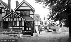 Sandbach, Lower Chequer Inn c.1965