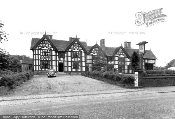 Photo of Sandbach, Old Hall Hotel c.1955