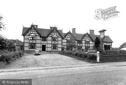 Sandbach, Old Hall Hotel c.1955