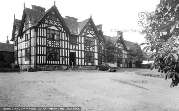 Photo of Sandbach, Old Hall Hotel c.1965