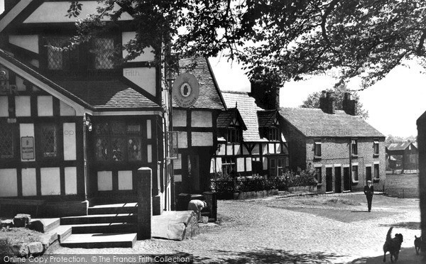 Photo of Sandbach, Old Houses c.1955
