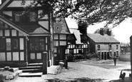 Sandbach, Old Houses c.1955