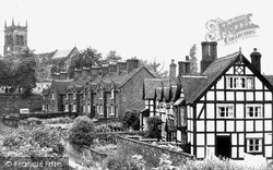 Sandbach, Old Houses, Front Street c.1955