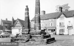 Sandbach, Sandbach Cross c.1965