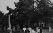 Sandbach, St Mary's Church c.1955