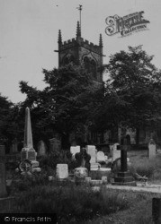 Sandbach, St Mary's Church c.1955