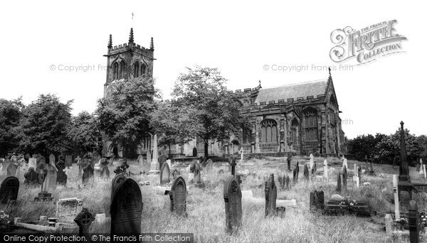 Photo of Sandbach, St Mary's Church c.1960
