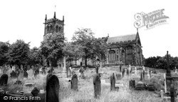 Sandbach, St Mary's Church c.1960