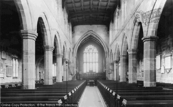 Photo of Sandbach, St Mary's Church Interior c.1955