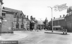 Sandbach, The Fountain And High Town c.1960