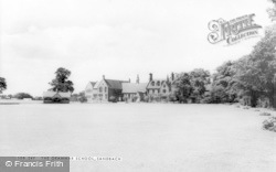 Sandbach, The Grammar School c.1960