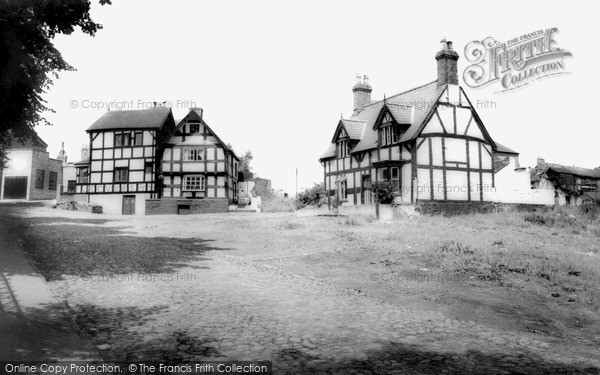 Photo of Sandbach, The Lower Chequer c.1955