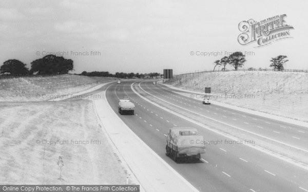 Photo of Sandbach, The Motorway c.1960