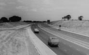 Sandbach, The Motorway c.1960
