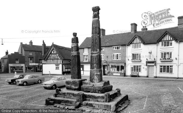 Photo of Sandbach, The Saxon Crosses c.1965