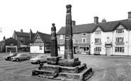 Sandbach, The Saxon Crosses c.1965