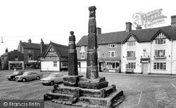 Sandbach, The Saxon Crosses c.1965