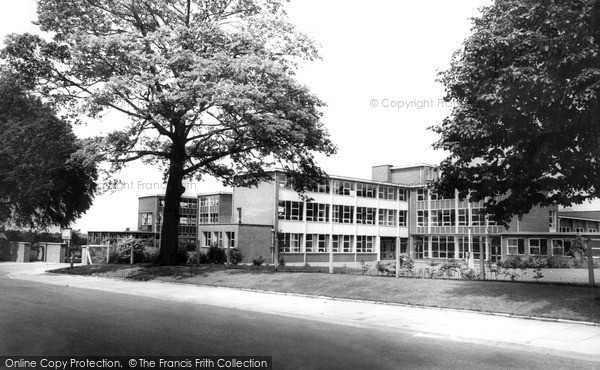 Photo of Sandbach, The Secondary School c.1960