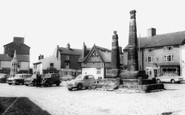 Sandbach, the Square and Crosses c1960