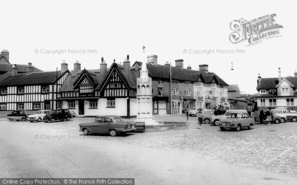 Photo of Sandbach, The Square c.1960