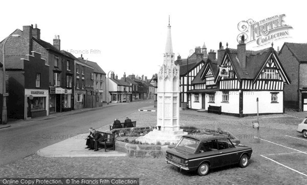 Photo of Sandbach, The Square c.1965