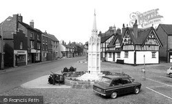 Sandbach, The Square c.1965