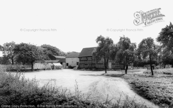 Photo of Sandbach, The Tudor House c.1960