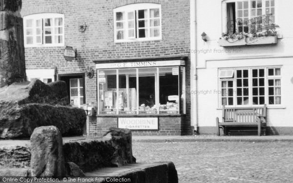 Photo of Sandbach, Timmins Store c.1965