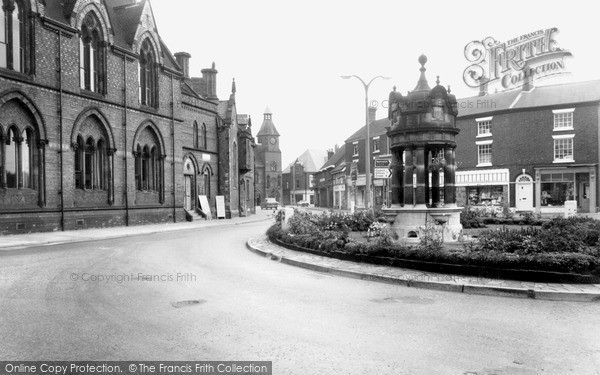 Photo of Sandbach, Town Centre c.1965