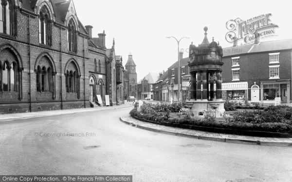 Photo of Sandbach, Town Centre c1965