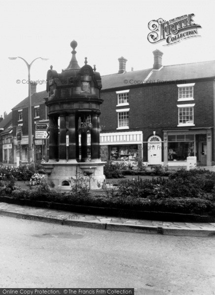 Photo of Sandbach, Town Centre c.1965