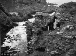 Findlater Castle 1961, Sandend