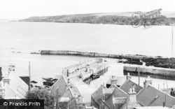 The Harbour c.1960, Sandend