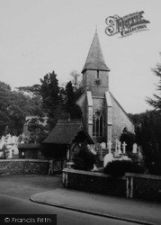 Sanderstead, All Saints Church c.1965