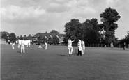 Sanderstead, Cricket On The Green c.1955